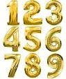 Кулі повітряні цифри