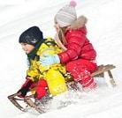 Санчата, льодянки, сніжки
