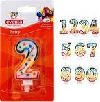 Свічки для торту цифри
