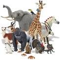 Тваринки, динозаври, фігурки