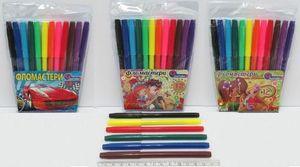 Фломастери 12 кольорів J.Otten 828-12 (12)