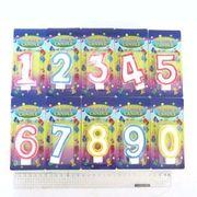 Набір свічок для торта з блискітками Цифри від 0 до 9 Josef Otten DSCN5151 (1/12)