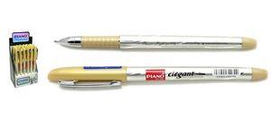 Ручка масляна синя 1.0 мм з гумовим тримачем Elegant Piano PT-185