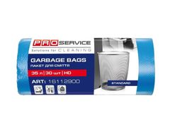 Пакет для сміття 30шт 35л синій 16112900 (60)