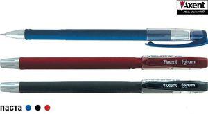 Ручка гельова Axent  FORUM AG1006 червона (12/144)