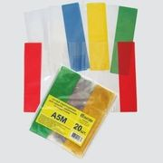 Обкладинка для зошита+м'якого щоденника 5 шт 75мкм TASCOM ПВХ 2203-ТМ (1/1000)