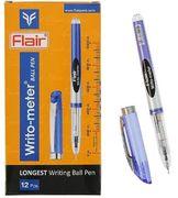 Ручка масляна синя 0.5 мм 10 кілометрів  Writo-meter Cello CL-8048