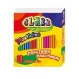 Пластилін CLASS (10 кольорів) 200г 7623 (24)