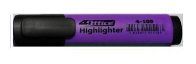 Маркер-текст 4Оffice. Клиноподібний пишучий вузол. Ширина лінії 1-5  мм. Колір чорнила: фіолетовий 4-109 01100307 (10)