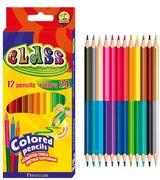 Олівці 12 кольорів 2-х сторонні PREMIUM CLASS 1612/24 (12) 01152640