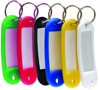 Брелок-індефікатор набір 6 шт. пластик SCHOLZ 4401 (25) 04160240