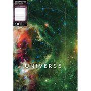 Папка на 10 файлів А4 мікс кольорів 600 мкм матова фактура Universe Optima O32108