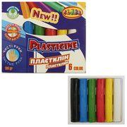 Пластилін CLASS (6 кольорів) 100г ЕСО Чисті руки 7625 (30)