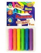 Пластилін CLASS (6 кольорів) 100г ЕСО NEON Чисті руки 7630 (20)