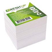 Бумага для записей не клееный белый блок Fresh Up 900 листов 90х90 мм FR-1611