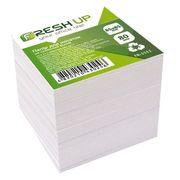 Папір для нотаток не клеєний білий блок Fresh Up 800 аркушів 85х85 мм FR-1511