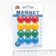Магніт ддошки 2см в блістері Colours 12шт DSCN 1570 (12)