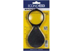 Лупа D60мм пластик Economix E82104 3-ти кратне збільшення