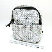 Рюкзак молодіжний Компакт білий 25х30х12см 4474-7-2