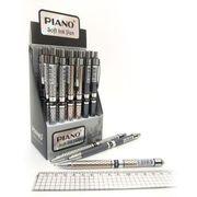 Ручка кулькова автоматична PIANO Пишучий вузол - 0,7 мм. Довжина стрижня 121 мм. Колір чорнила: синій PS-007 (24)
