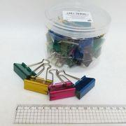 Біндер 41 мм DSCN 5388-41 кольоровий Металлік (24)