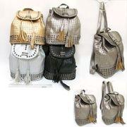 Рюкзак молодіжний кожа Плетіння 27х25х12см 2625