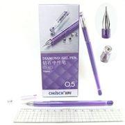 Ручка гелева фіолетова 0.5 мм Chosch Josen Otten CS-821