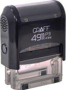 Штамп стандартний GRAFF 4911 Сплачено 38х14 мм укр