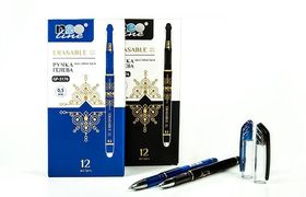 Ручка гелева автоматична з стираючими чорнилами фіолетова 0.5 мм Erasable Frixion Neo Line GP-3216