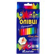 Олівці 12 кольорів Профі-Арт  9403  (12)