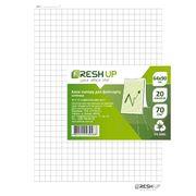 Папір для фліпчарта в клітинку Fresh Up 640х900 мм 20 аркушів FR-20KL