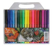 Фломастери Кіт, 18 кольорів, діаметр - 8.3 мм, ФЛ46-1, УМКА 01121010 (1/12/144)