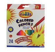 олівці кольорові, 24кол.,1624/2, PREMIUM, CLASS 01152630 (1/6/120)
