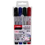 Набор маркеров для досок 2,5 - 3,5 мм, круглые, 400 метров, 4 шт, 224-24N, NORMA 01170210 (1/50/300)