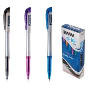 Ручка гелева синя 0.6 мм Q-be Win