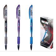ручка гелева, 0.6мм, чорн., X-TEN, WIN 01190029 (12/144/172)