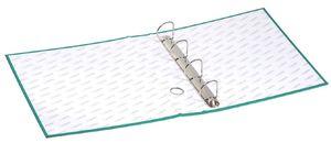 папка з кільцями, А4, 5см, 4НК, PVC картон. черв., 5306, NORMA 03070421 (1/24)