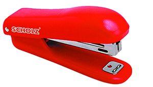 степлер, 10, 15арк, 45мм, червон., 4021, SOZ 04020061 (1/12/144)