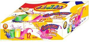 Фарби гуашеві 12кол.,120 мл., 7619,CLASS 11020030 (1/12)