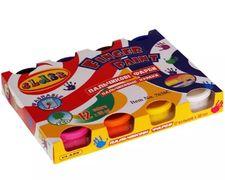 Фарби пальчикові 12 кольорів, 360 мл, 7638C, CLASS 11020080 (1/12/24)