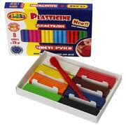 Пластилін Чисті руки MAXI  8 кольорів х 20 гр, ECO, 7644С, CLASS 11060460 (1/40)