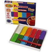 Пластилін Чисті руки MAXI 12 кольорів х 20 гр, ECO, 7646С, CLASS 11060480 (1/40)