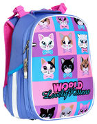 ранець SchoolCase Mini Lovely Kitties, 2 відд., 35*27*16см, PL, 2013C, CLASS 13012620 (1/4)
