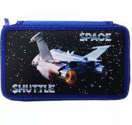 пенал 3-яр.,пустий,Space Shuttle, 210/70D PL, 20607C, CLASS 13024350 (1/6/48)