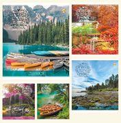 Зошит в клітинку 36 аркушів кольорова обкладинка, дизайн: Природа Тетрада 51410