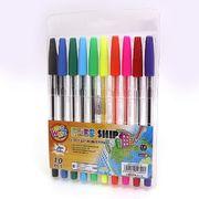 Набір кулькових ручок 1.0 мм 10 кольорів Beifa AA927-10