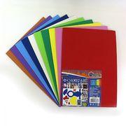 Фоамеран кольоровий в наборі EVA А4 (1,0мм) 17А4-MIX2 10 листів 10 кольорів