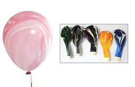 Куля повітряна 30см мармур 991919 різні кольори мікс  (100)