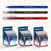 Ручка кулькова Pensan Buro. Пишучий вузол - 1.0 мм. Без змінного стрижня. Колір чорнила: синій. 2270 (50)