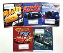 Зошит А5 (12 л/Тетрада кол Disney) клітинка серія Cars. Best 11924 (25/250)